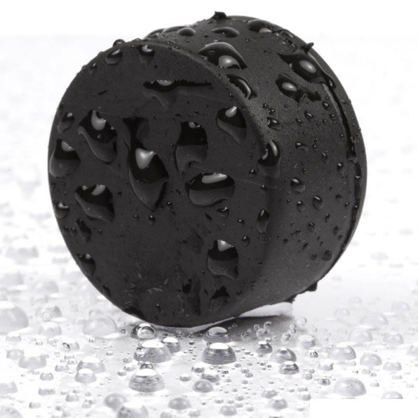Black Rubberised Plated NdFeB Disc Magnet