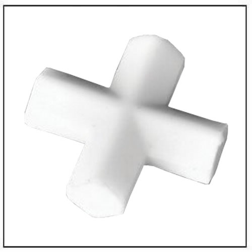 Cross-Shaped Teflon Magnetic Stir Bar