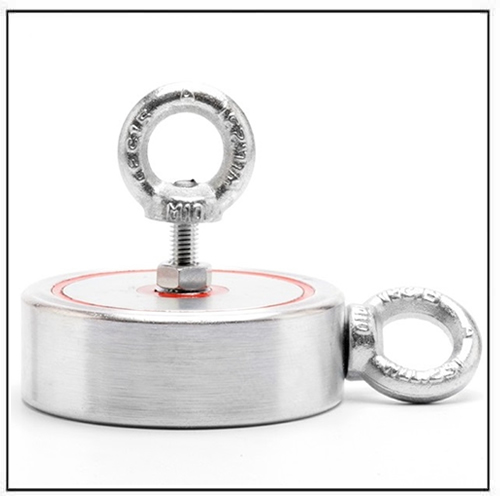 Two-way Eyebolts Relic Hunting Magnets 400kg Pull Force