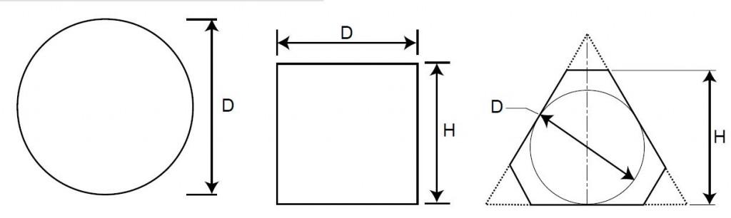 microwave ferrite shapes
