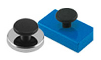 Base Magnets with Knobs