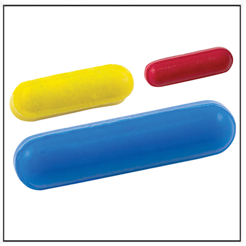 Color-Coded Micro Stirring Bar PTFE
