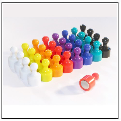 High Power Skittle Pin Magnets