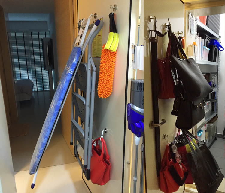 Magnetic Hooks instoreroom by Makus