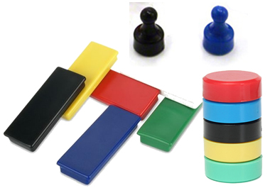 Plastic-coated-magnets