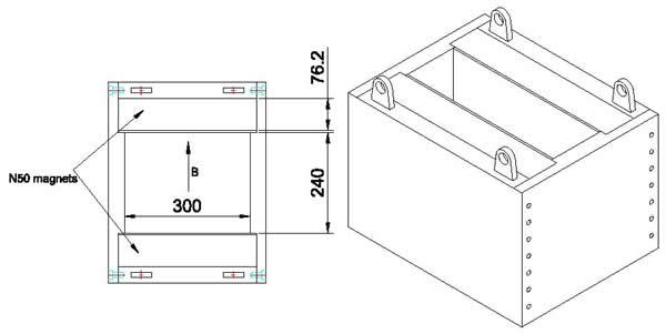 magnetic-plating-tank-drawing
