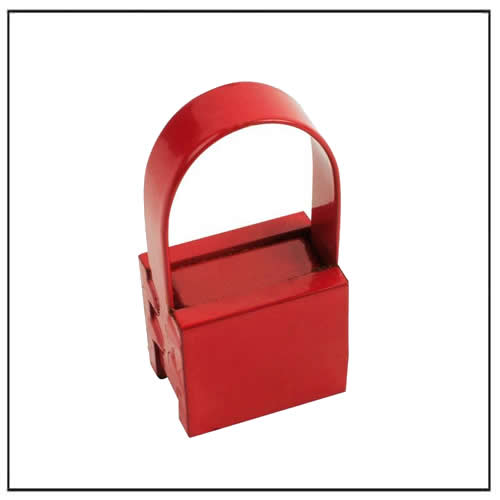 Brand New  30 Lb Capacity Powerful Handle Magnet red