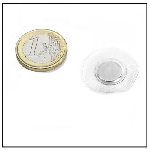Extra Small Sewing Magnets w Circular Plastic Cover 10mm