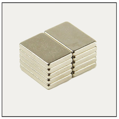 Extra Strong NdFeB Rare Earth Magnet Block N42M 15 x 10 x 2 mm