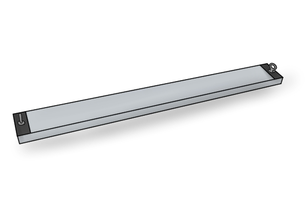 Eye bolt forklift magnetic sweeper