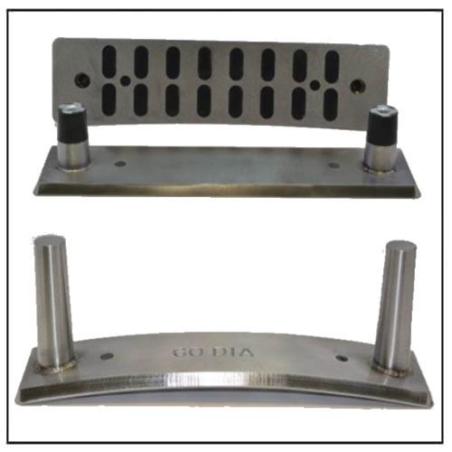 Flat & Radius Step Pin Forming Magnets