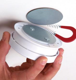 Magnetic Pad for Smoke Detector