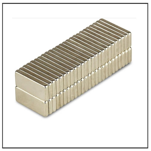 N50 15 x 6.5 x 2 mm Nickel-Copper- Nickel Coated Neo Magnets