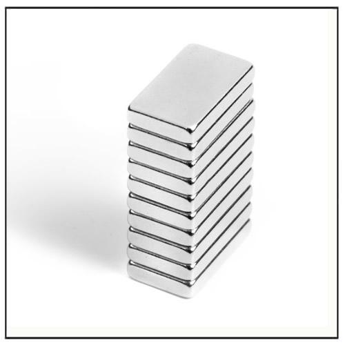 Rare Earth Block Magnets N45H 12 x 7 x 2 mm