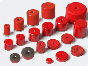 Red Painted Magnets