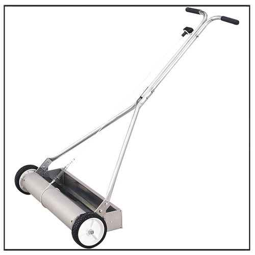 Wheeled Rolling Magnetic Sweeper Pick Up Tool