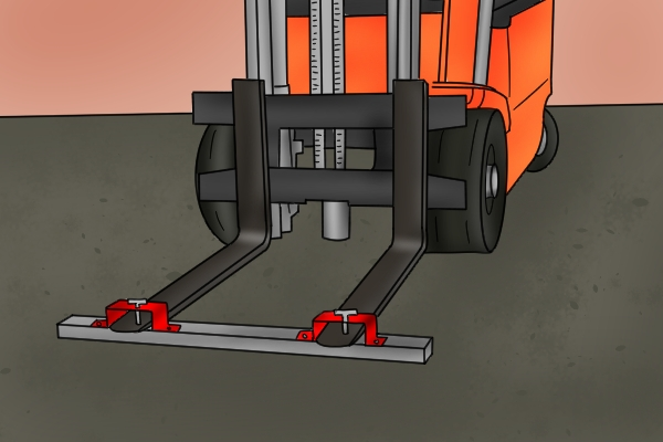 forklift magnetic sweeper