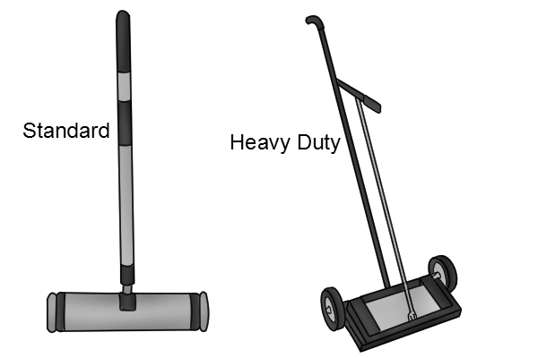 type of push magnetic sweeper