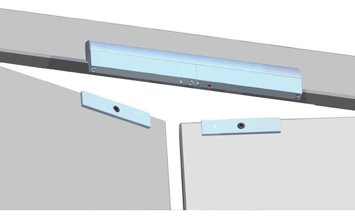350kg-electromagnetic-double-door-lock-installtion