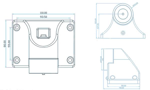 plastic-or-metal-cover-floor-mount-electromagnetic-door-holders-dimension-diagram