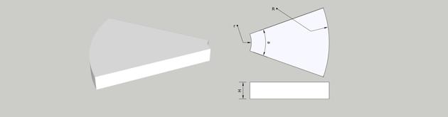 wedge-or-segment-sintered-neodymium-magnets-drawing
