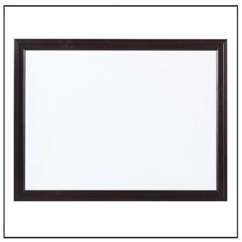 Black Wooden Frame Whiteboard