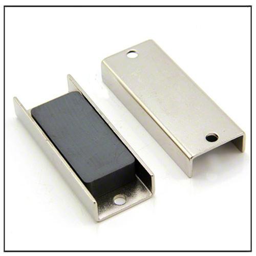 ferrite rectangular channel magnet