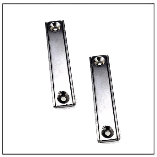 neodymium channel holding magnet