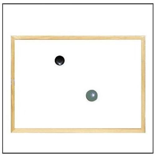 Wood Frame Magnetic Dry Erase Board