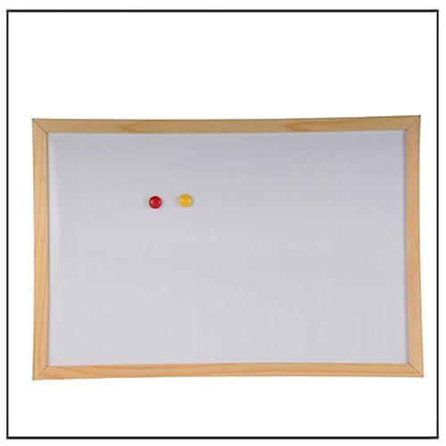 wood frame magnetic whiteboard