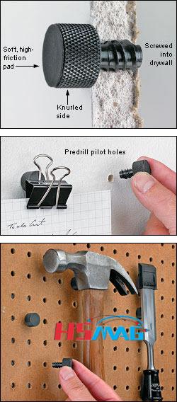 Magnetic Studs used method