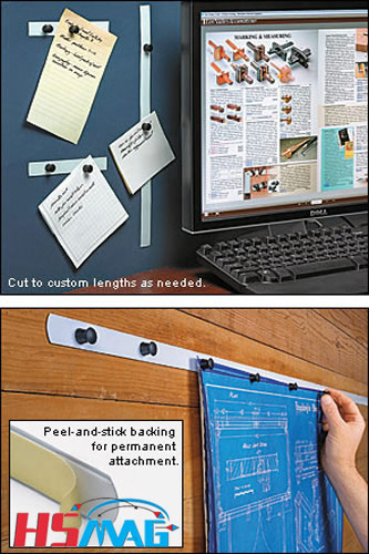 Magnetic Tack mounting system