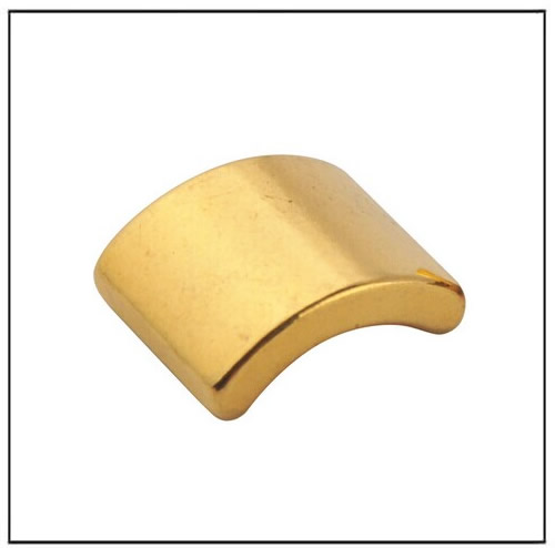 Arc Golden Coating Rare Earth Magnets