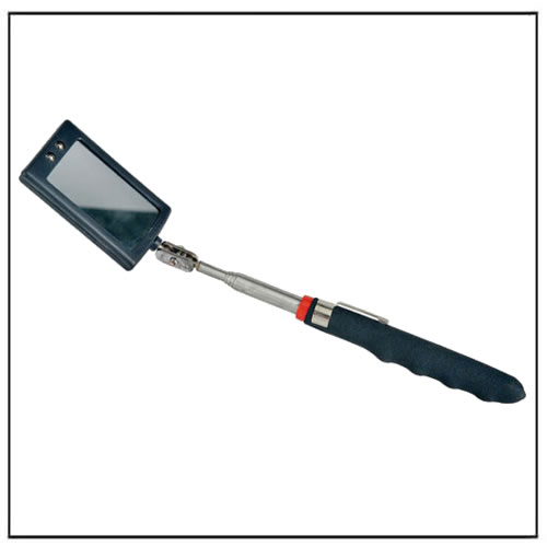 LED Lighted Inspection Mirror Telescoping