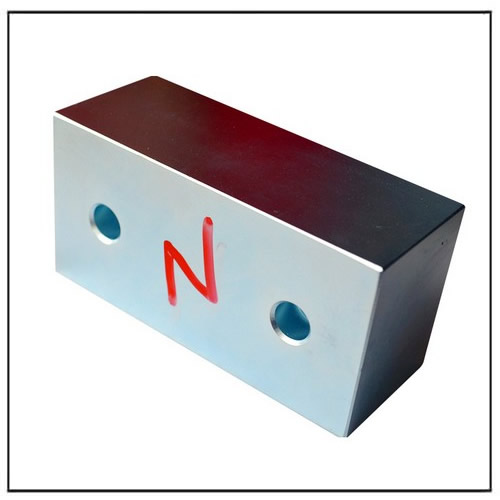 Block Countersunk Magnets