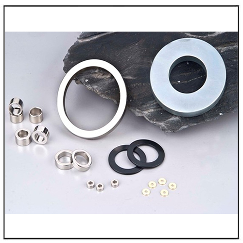 Customized Sintered Neodymium Ring Magnets