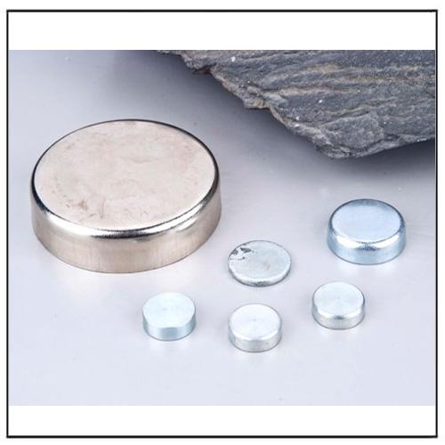 Flat Ceramic Holding Pot Magnets