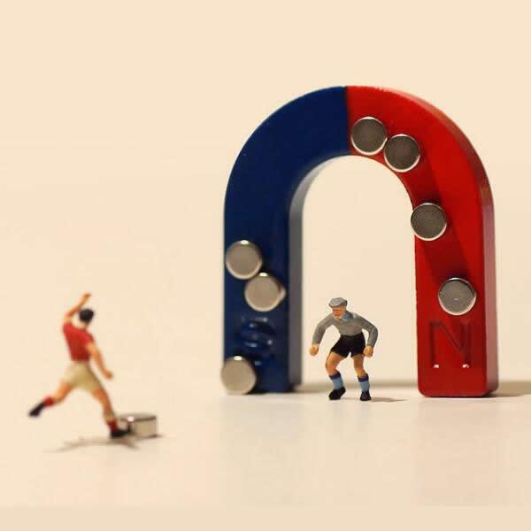 Mini Alnico Horseshoe Magnet