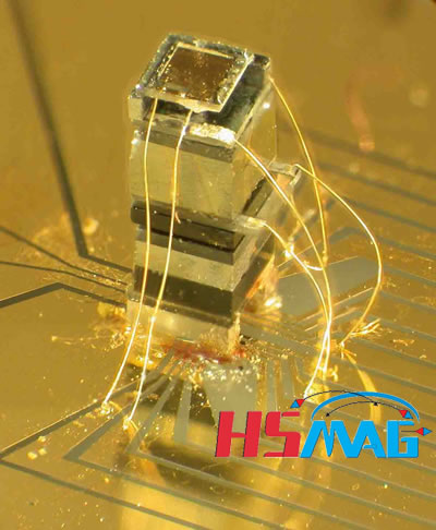 Tiny magnetic sensor