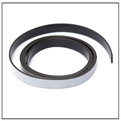10X1.5mm Self Adhesive Magnetic Tape Strip