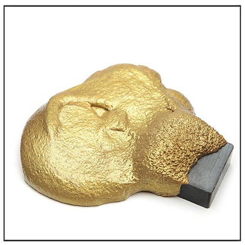 Golden Magnetic Thinking Putty