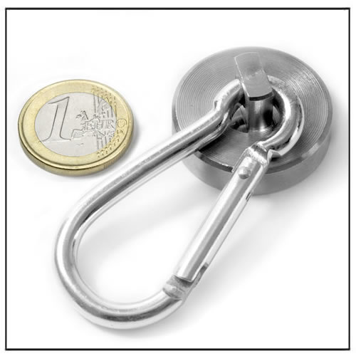 Holding Pot Magnet with Carabiner