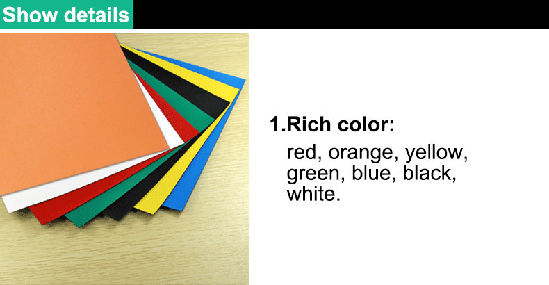 A4 Colorful Soft Magnetic Sheet 1 rich color