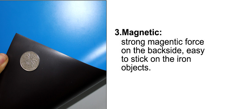 A4 Colorful Soft Magnetic Sheet 3 strong force