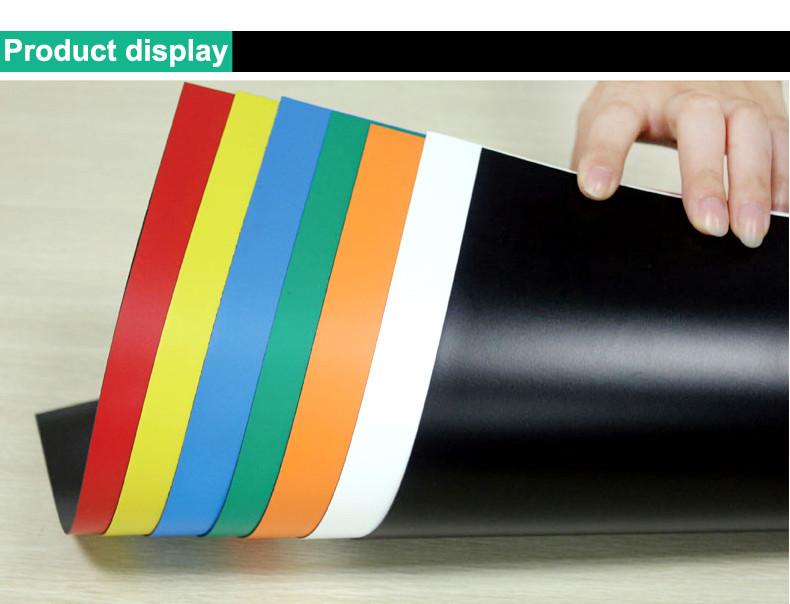 A4 Colorful Soft Magnetic Sheet Product Display