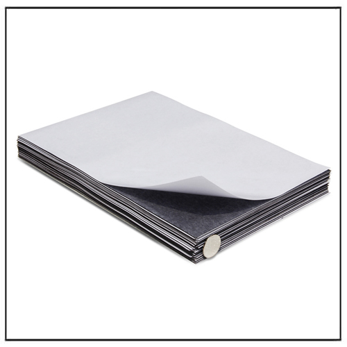 A4 Size 0.5mm Self Adhesive Flexible Magnetic Sheet