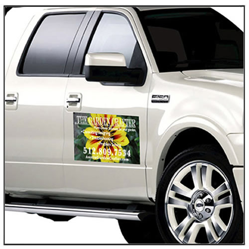 Vehicle Advertising Magnetic Signs