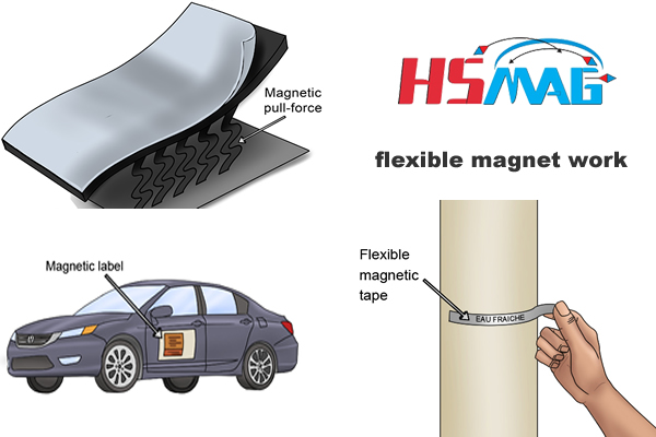 flexible magnet work