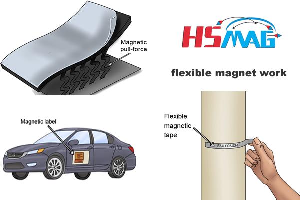 flexible magnet work