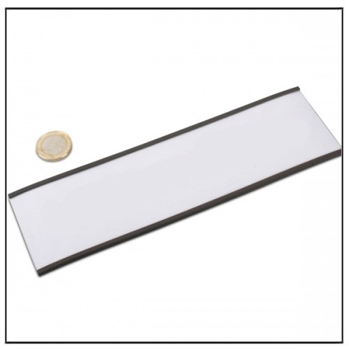 C Channel Magnetic Label Holder Strip 200 x 60 mm